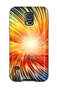 High Quality CjAlFtf2994IySlx Circle Colorfull Images349 Tpu Case For Galaxy S5