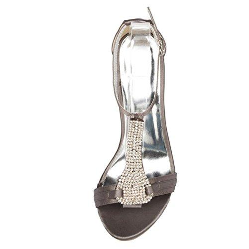 Kevin Fashion - Zapatos de boda a la moda Mujer Negro - negro