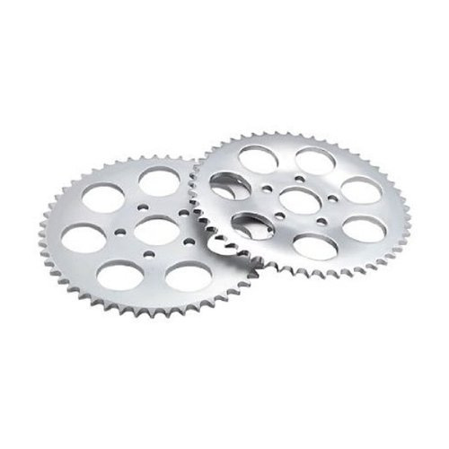 Twin Power 48 Tooth Zinc Plated .150 Offset Rear Sprocket for Harley Davidson 1 ()