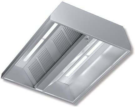 Cappa 280 x 220 x 45 acero inoxidable Central neutra luces Cocina Restaurante rs7536: Amazon.es: Hogar