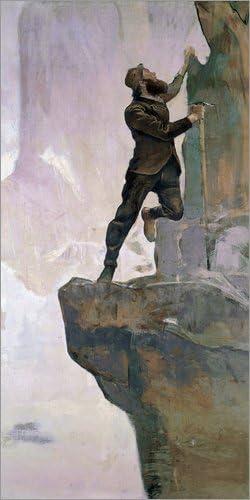 Posterlounge Cuadro de metacrilato 40 x 80 cm: Ascent III de Ferdinand Hodler/akg-Images: Ferdinand Hodler: Amazon.es: Hogar