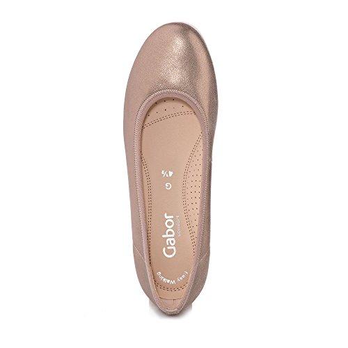 Gabor Ladies Comfort Sport Chiuse Ballerine, Bronzo Blu