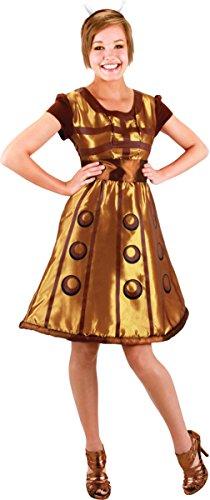 Morris Costumes Women's DOCTOR WHO DALEK DRESS, 14-16]()