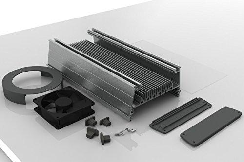 MakersLED Designer Heatsink Kit - Professional Grade - Anodized 36 Inches by LEDGroupBuy (Image #2)