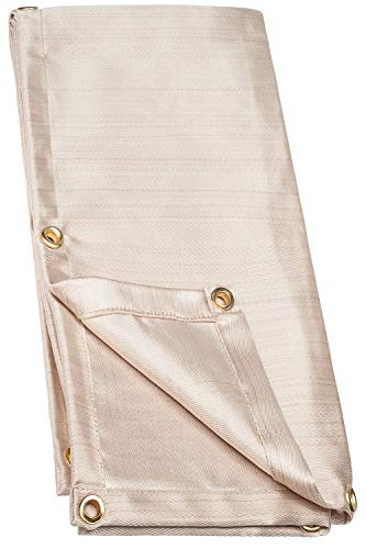 Neiko 10909A Fiberglass Welding Blanket and Cover, 6' x 8' | Brass Grommets for Easy Hanging and Protection