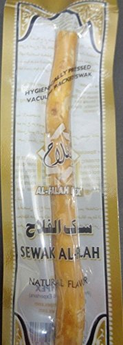 NDA Al-Harmain Miswak Natural Herbal Toothbrush Islamic Stick Fresh 100% Seale (Five (5) TOOTHSTICK)