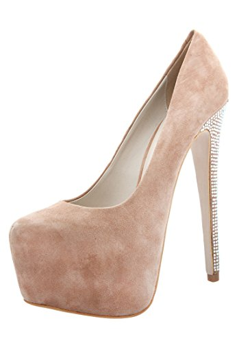 Janiko Women's Diva-Nude Court Shoes Nude Beige Size: Cream u983C0NkL