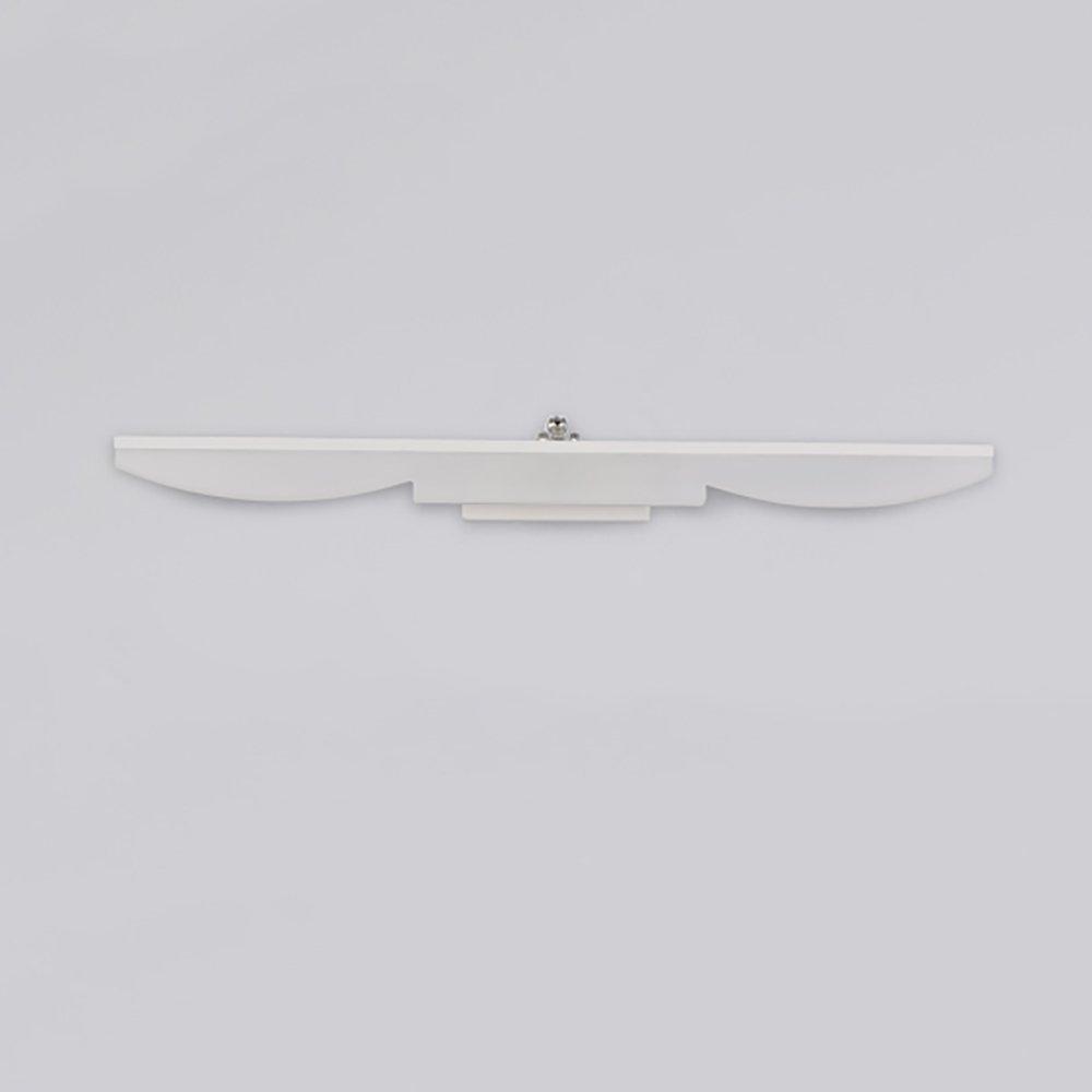 Warmes Licht-40cm-8w Spiegel - scheinwerfer Moderne wasserdichte Anti-Fog-Spiegel-Frontleuchte Led Badezimmer verstellbare Spiegelschrank Make-up-Lampen licht im bad (Farbe   Warmes Licht-40cm-8W)