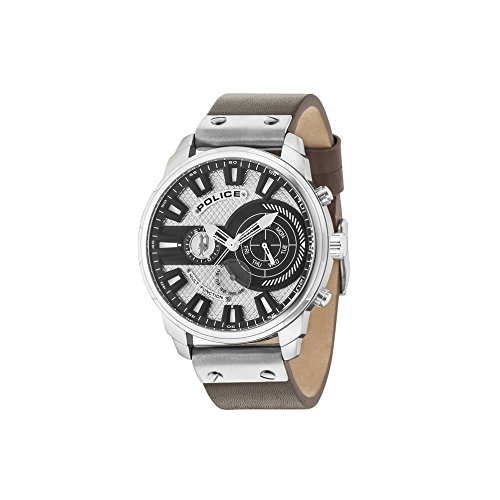Police Leicester Watch R1451285002 Man Gray Multifunction