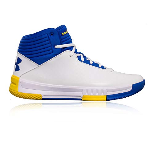 Under Armour Lockdown 2 Basketball Shoes - 10.5 - White