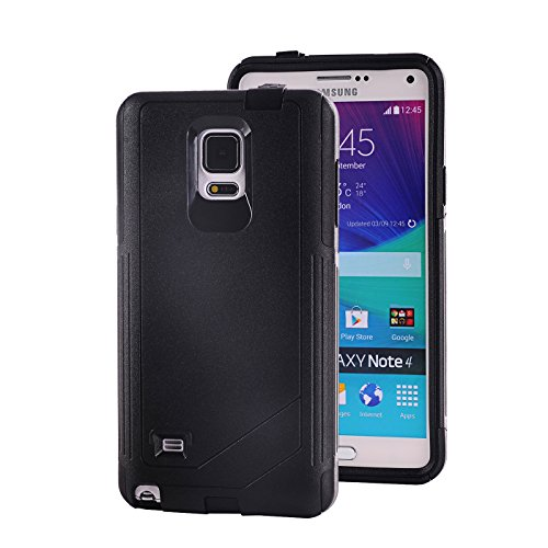 galaxy note 4 black bumper - 8
