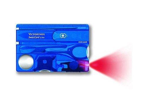 Victorinox Swisscard Lite, Sapphire, Outdoor Stuffs