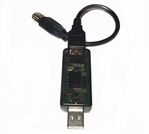 EZSync Compact USB Dongle for USB Port Isolation and Audio Noise Filtering, ADUM3160, 2500V Isolation, 180mA, EZsync3102 ()