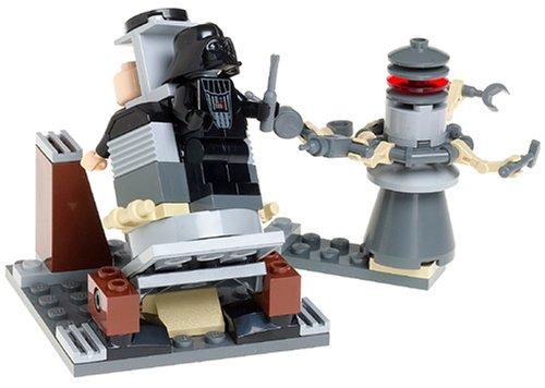 LEGO Star Wars Darth Transformation