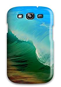 Protection Case For Galaxy S3 / Case Cover For Galaxy(rainbow Waves) 5567748K72384378