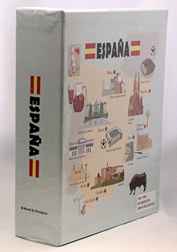 Spain Embossed Photo Album 100 Photos 4/6 NEW by World By Shotglass