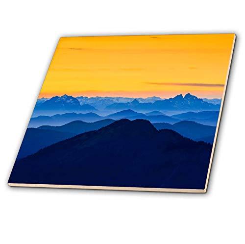 3dRose Danita Delimont - Washington - USA, Washington State. The North Cascades near Mt. Baker. - 8 Inch Glass Tile (ct_315149_7)