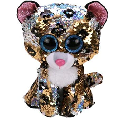 Ty Beanie Babies 36345 Flippables Regular Sterling The Leopard: Amazon.es: Juguetes y juegos