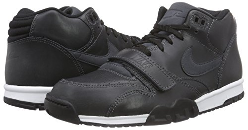 Zapatillas Trainer Anthrct Altas Negro para blk Hombre Nike Air Anthrct lsr Orng 1 Mid qS5XvnnIRw