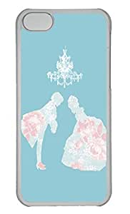 Personalized Custom Dance You And Me for iPhone 5C PC Transparent Case