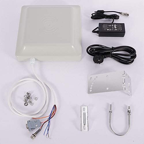 UHF RS232/RS485/Wiegand - Lector de Tarjetas RFID (8 dBi ...