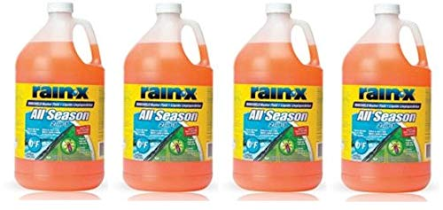 RainX  5061320 Windshield Washer Fluid 1 Gallon (4)