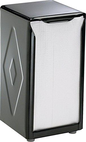 San Jamar H900BK Table Top Tall Napkin