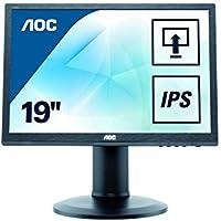 AOC I960PRDA 19 INCH IPS LED 1280 x 1024 2W speakers VGA DVI HEIGHT ADJ PIVOT
