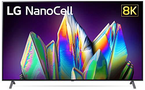 LG 190 cm (75 inches) 8K Ultra HD Smart NanoCell TV 75NANO99TNA (Dark Steel Silver) (2020 Model)