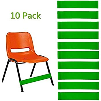 Amazon.com: 10 bandas para sillas Fidget – bandas flexibles ...