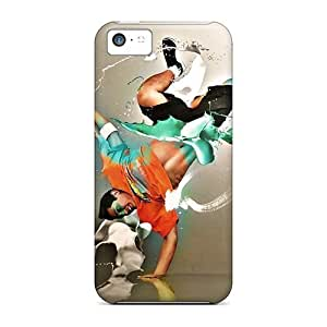 Jeffrehing Design High Quality Photoshop Breakdancer Cover Case With Excellent Style For Iphone 5c