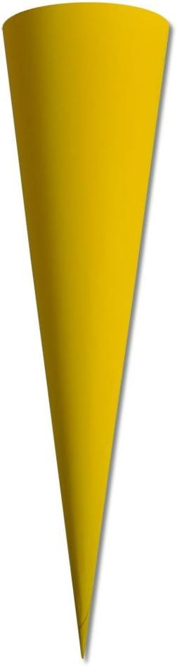in der Farbe Blau ׀ Wiemann Lehrmittel Blau Nestler Schult/üten-Rohling Zuckert/üte 70 cm