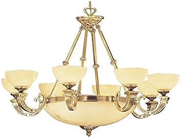 Amazon.com: classic lighting 5629 ABZ Mallorca, alabastro ...