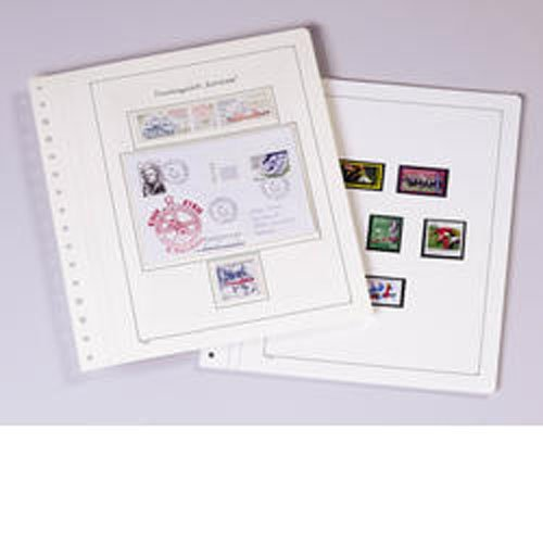 (KABE Blank sheets white album card with black traditional borderline)