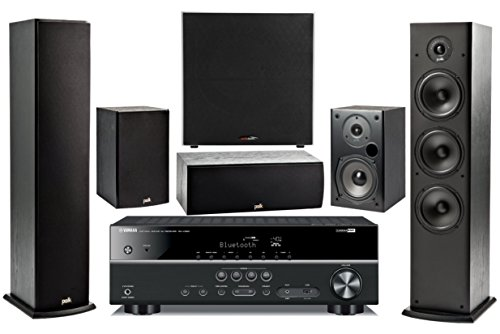 Yamaha 5.1-Channel Wireless Bluetooth 4K 3D A/V Surround Sound Multimedia Home Theater System ()