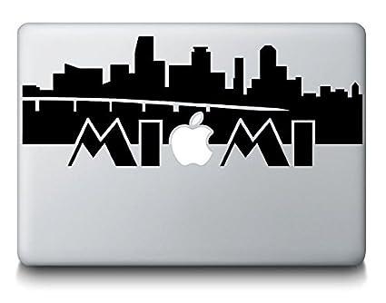 4a526028c3e Amazon.com  Miami Florida Skyline Silhouette CitySticker Decal ...