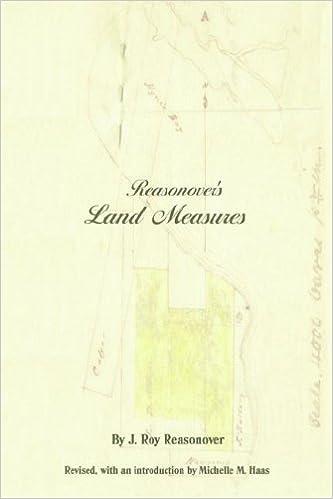 Book Reasonover's Land Measures