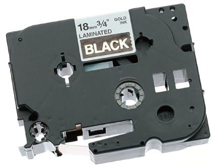 Brother TZ-344 cinta para impresora de etiquetas Gold on ...
