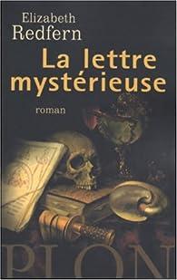 La lettre mystérieuse par Elizabeth Redfern