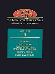 The New Interpreter's Bible: Numbers, Deuteronomy, Introduction to Narrative Literature, Judges, Ruth, 1 and 2 Samuel v.2: A Commentary in Twelve ... Judges, Ruth, 1 and 2 Samuel Vol 2