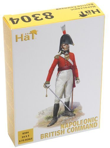 Hat 1/72 Napoleonic British Command # 8304 by HaT Industrie (Hat Napoleon)