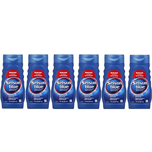 (Selson Blue Maximum Strength Dandruff Shampoo 7 oz (Pack of 6))