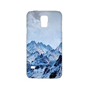 Welcome!SamSung Galaxy S5 3D Cases-Brand New Design Beautiful Snowy Scenery Printed High Quality TPU For SamSung Galaxy S5 3D 5.1 Inch -01