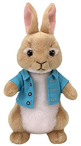 TY Peter Rabbit Plush - COTTONTAIL RABBIT