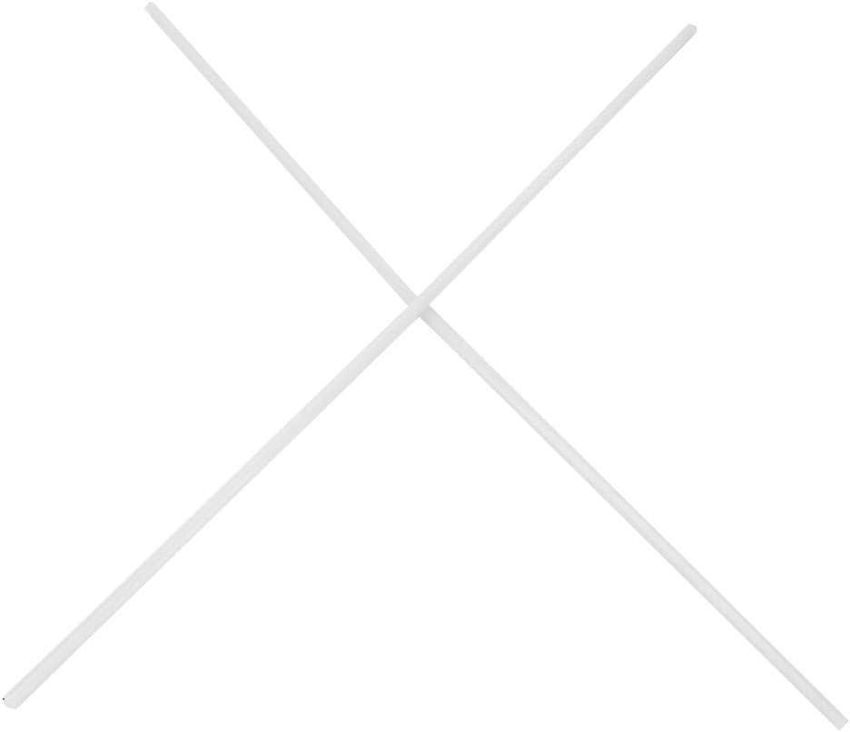 500mm FTVOGUE 2pcs Engineering Plastic /& Rubber Rods Wear-resisting Round Nylon Bar 6