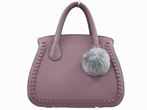 Nil, Borsa a spalla donna viola Grey Purple