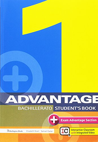 ADVANTAGE FOR BACHILLERATO 1. ST'S BOOK (2017)