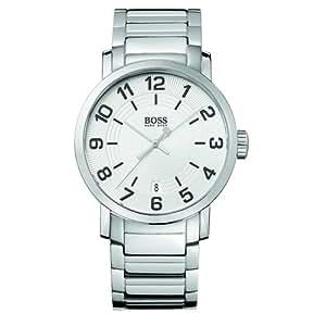 Hugo Boss  1512361 - Reloj de cuarzo para hombre, con correa de acero inoxidable, color plateado