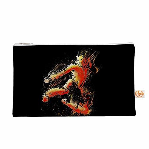 Kess eigene 12,5x 21,6cm barmalisirtb starken Fighter Alles Tasche–Orange/Schwarz