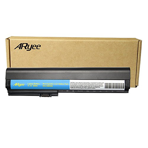 ARyee Laptop Battery for HP EliteBook 2560p 2570p, Compatible P/N Hp 463309-241 632015-222 632015-542 632423-001 HSTNN-C48C HSTNN-DB2L HSTNN-DB2M HSTNN-I08C HSTNN-I92C HSTNN-UB2K SX06XL (Hp Elitebook Plugged In Battery Not Charging)